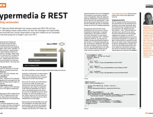 Hypermedia & REST – Krachtig verbonden